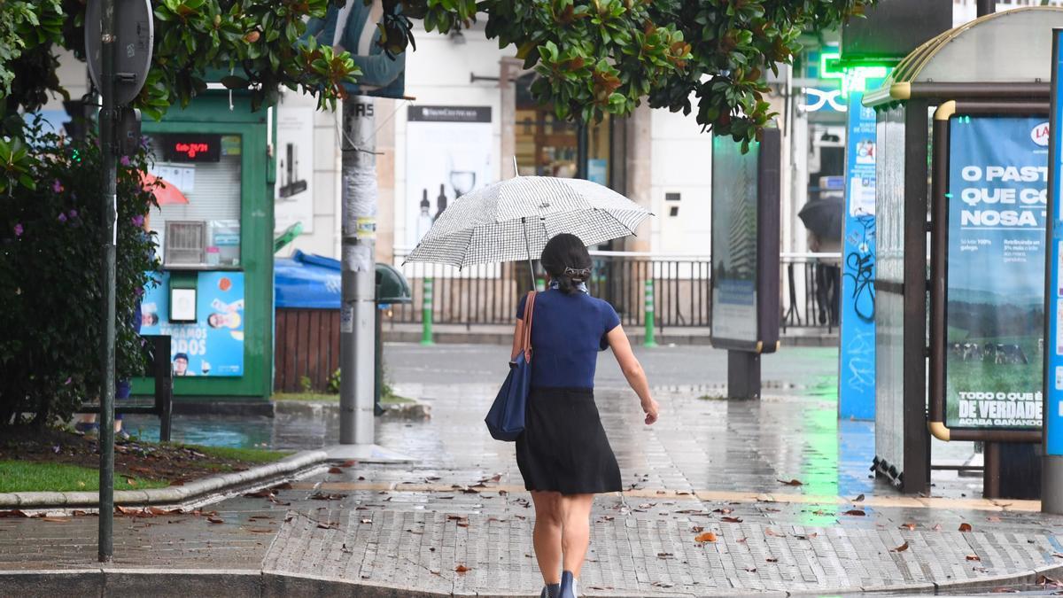 Galicia despide 2020 con lluvias, temperaturas frías y nevadas
