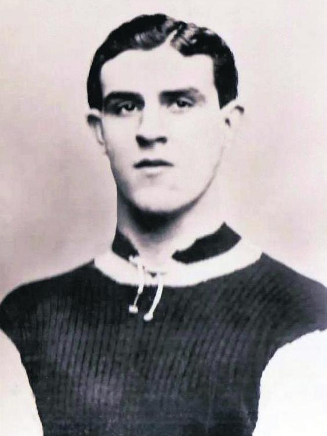 Tommy Ball, en una de las pocas imágenes que hay de él.