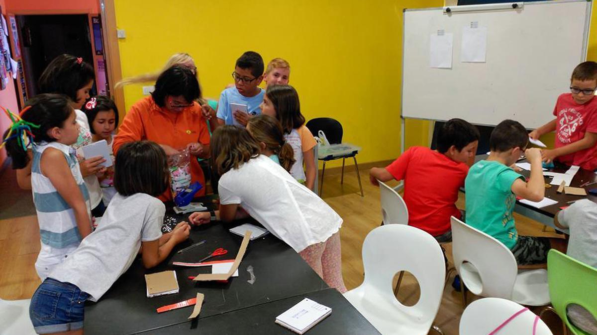 Una de las actividades desarrolladas en el Punto Joven.