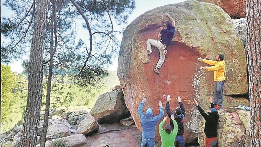 El paraíso de los escaladores sin cuerdas