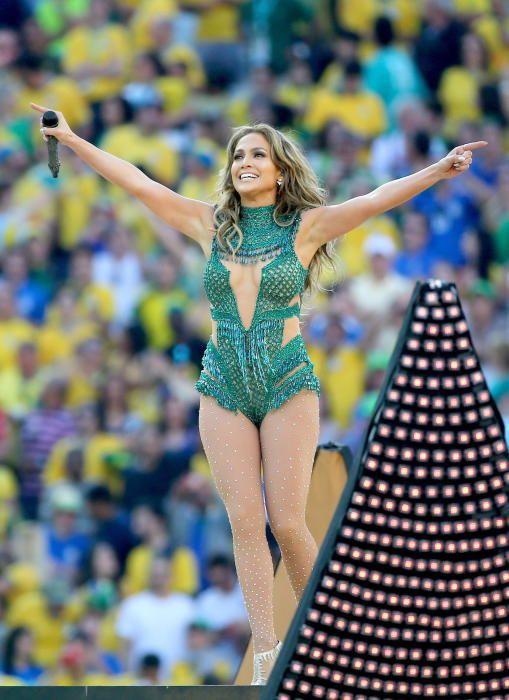 Jenifer López, en Brasil en 2014