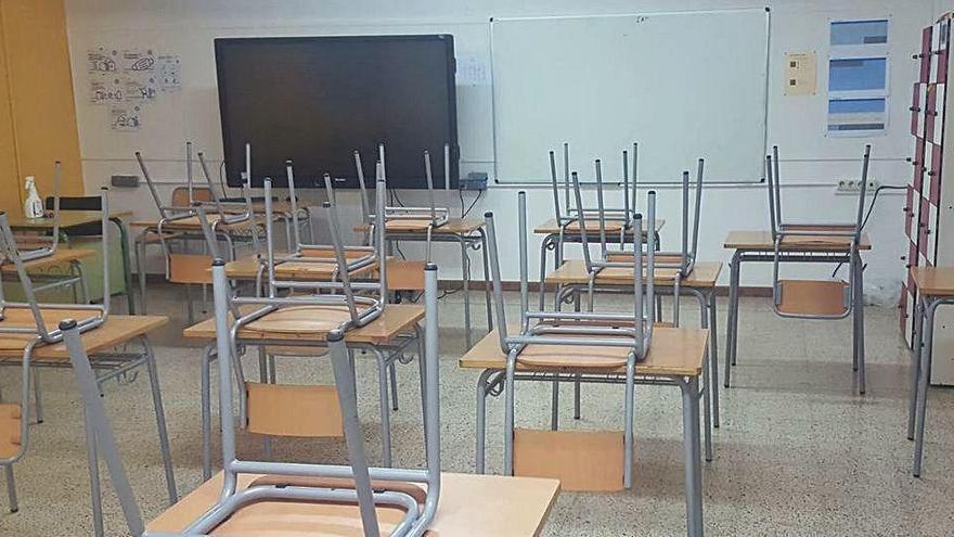 L'institut de Solsona té els 109 alumnes dels seus sis grups de quart d'ESO confinats