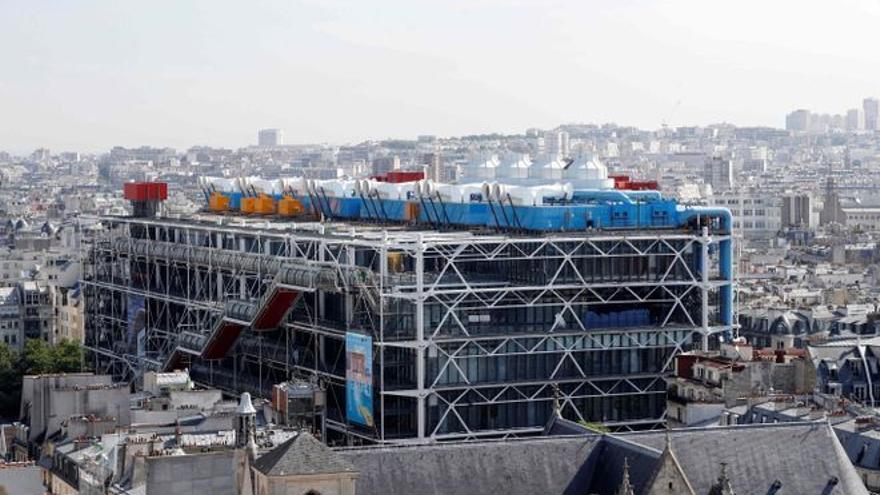 El envejecimiento obliga a cerrar el Pompidou de París durante 4 años por obras
