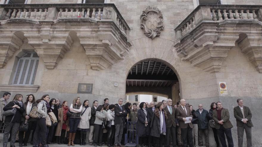 Doscientos jueces y fiscales de Baleares están llamados a la huelga el día 19