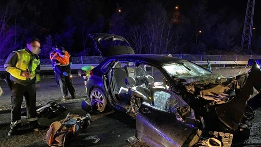 Da positivo en alcoholemia el investigado por el accidente en el que murieron una madre y sus dos hijos