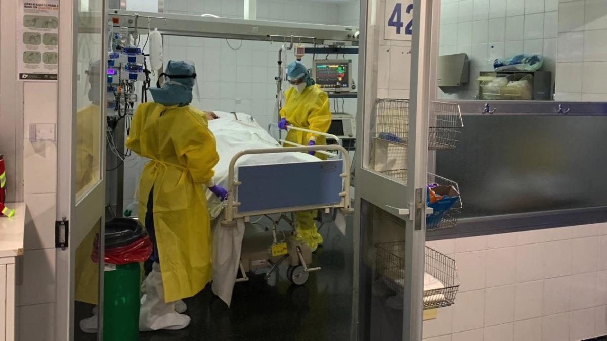 Consulta del Hospital Regional de Málaga.