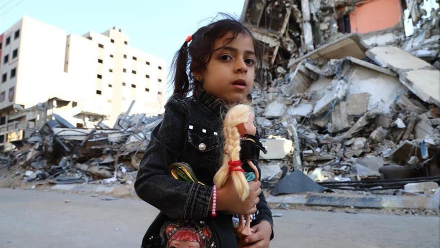 Gaza se queda sin infraestructuras tras nueve días de bombardeos de Israel