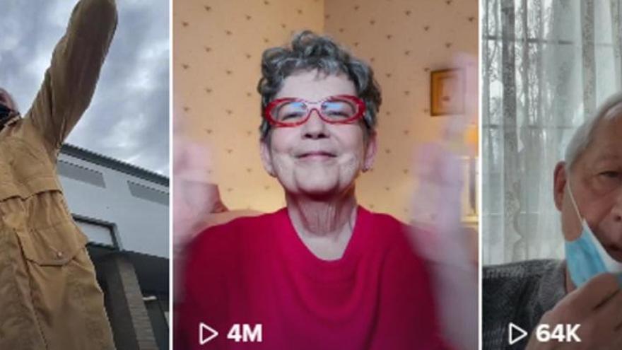 Els avis tiktokers que triomfen amb els seus vídeos