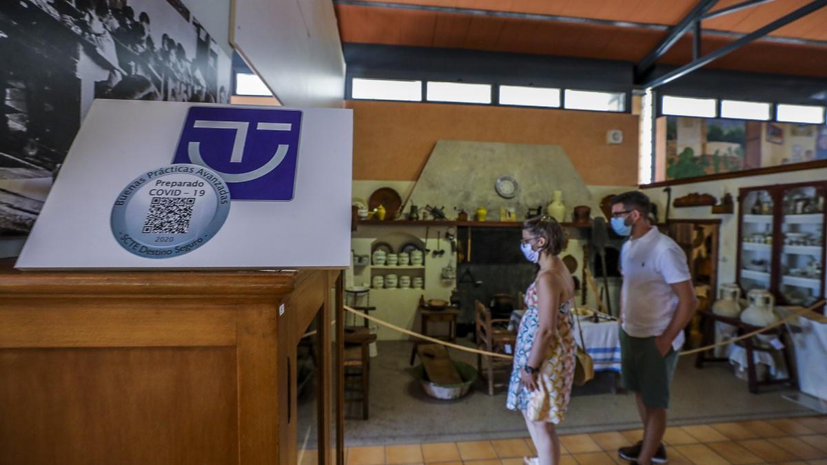Museo de Pusol en imagen de archivo