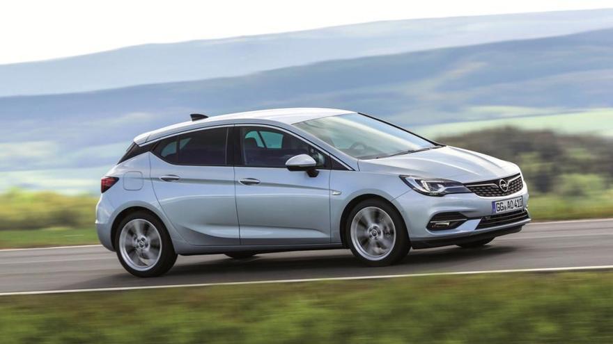 Opel Astra, el compacte més eficient