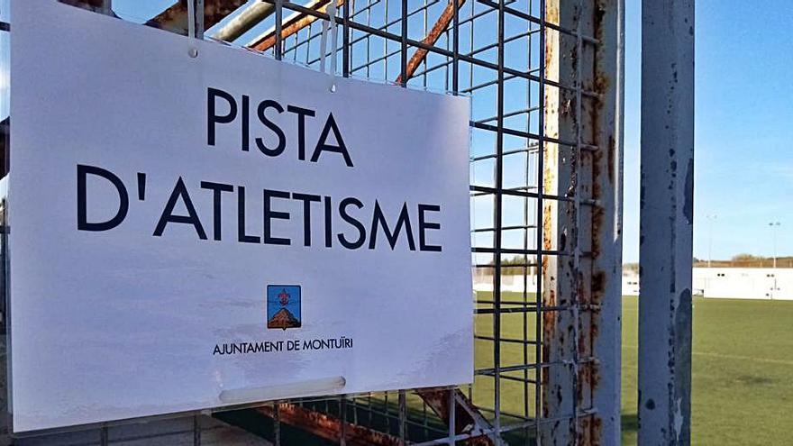 En Montuïri informan de una pista de atletismo inexistente