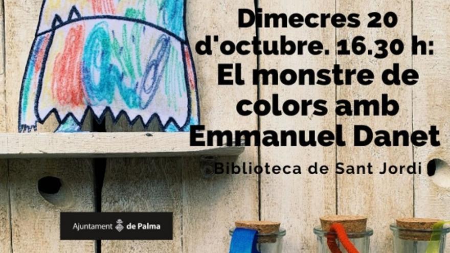 El monstre de colors amb E. Danet