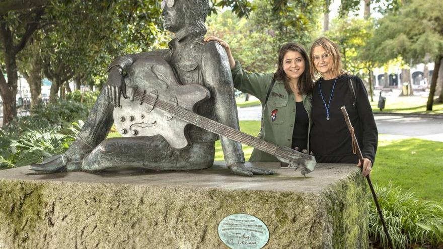 La grovense Carolina Rubirosa pone música al Camino Inglés y a su vínculo con Lennon