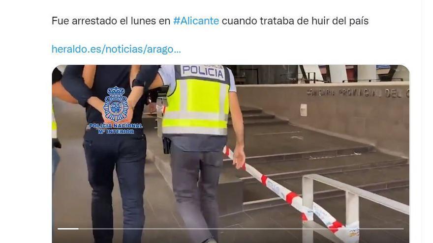 Investigado por un robo en Ibiza el agresor de un policía en Zaragoza