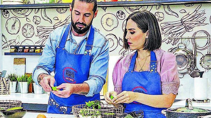 Tamara Falcó y el chef Javier Peña versionarán recetas tradicionales