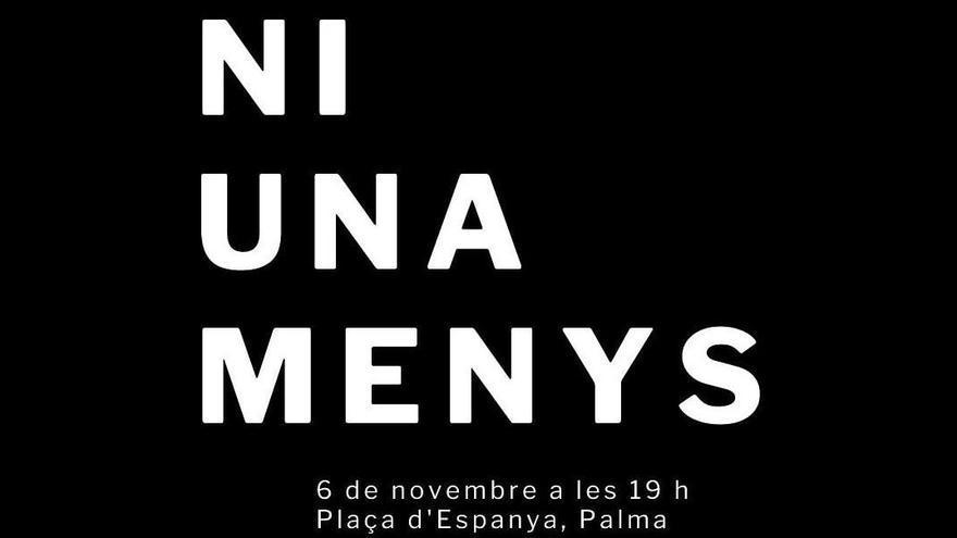 Convocan una concentración este viernes en Palma para condenar el asesinato machista ocurrido en el Secar de la Real