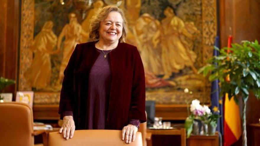 """Rosa Menéndez, presidenta del CSIC: """"En cinco años tendremos un Nobel español"""""""