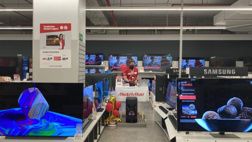 MediaMarkt inaugura su nuevo establecimiento en el Centro Comercial El Ingenio