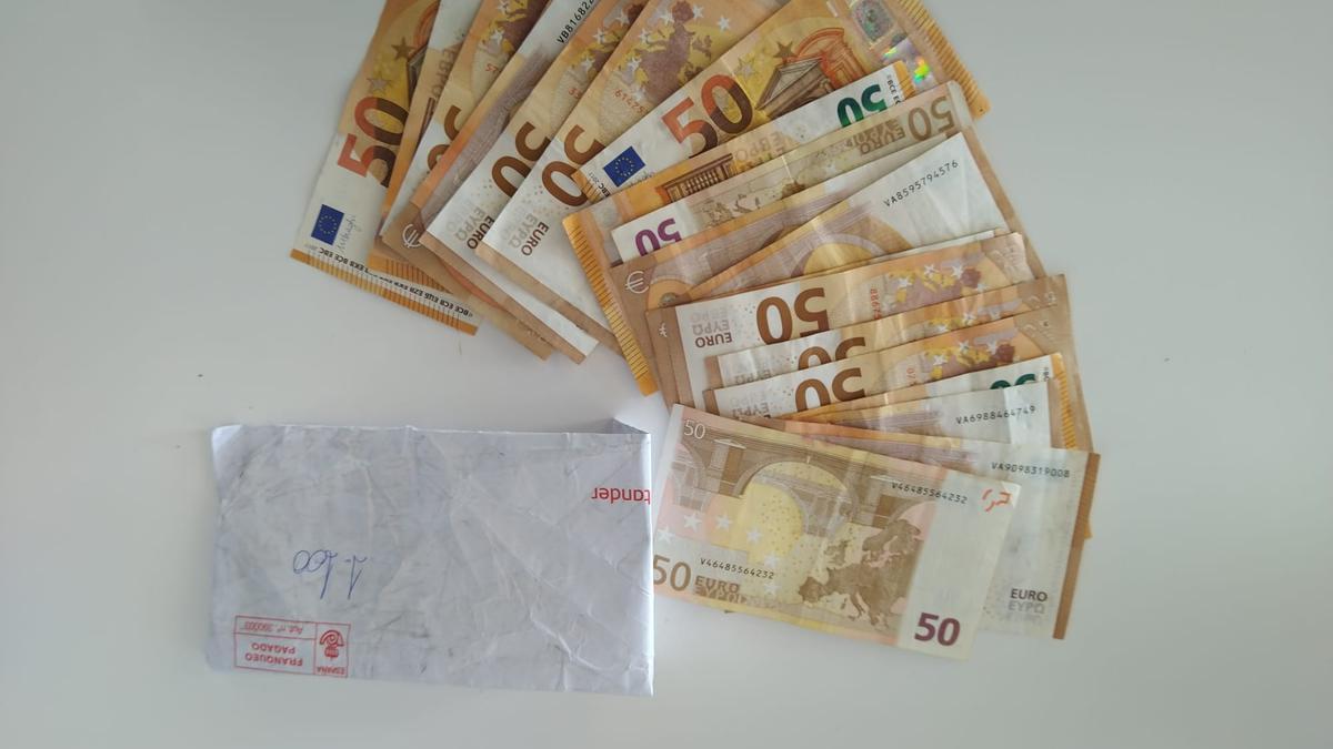 Dinero recuperado