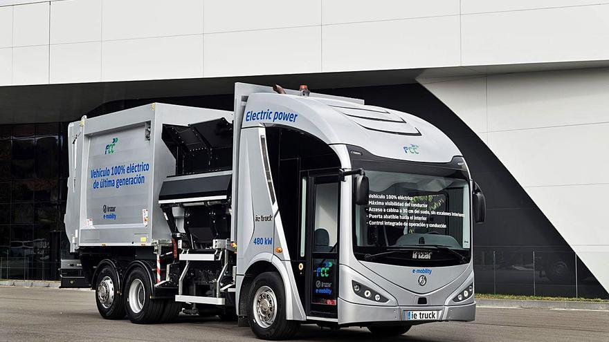 FCC encarga los 10 primeros camiones eléctricos para la recogida de la basura
