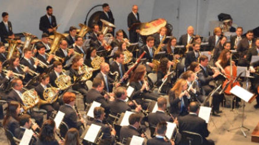 Concierto de bandas en el Auditorio de Tenerife