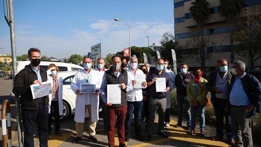 La plataforma Aparcamientos Reina Sofía denuncia graves retrasos en las obras del parking