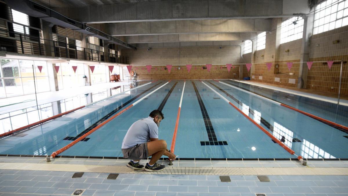 La piscina cubierta del Infante comienza a funcionar a partir de hoy. ISRAEL SÁNCHEZ
