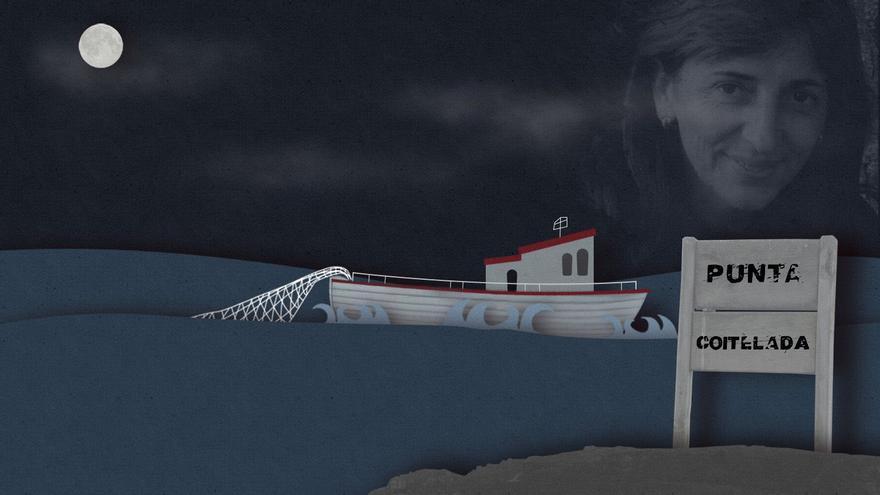 Teresa Troncoso:  El cadáver atrapado en las redes