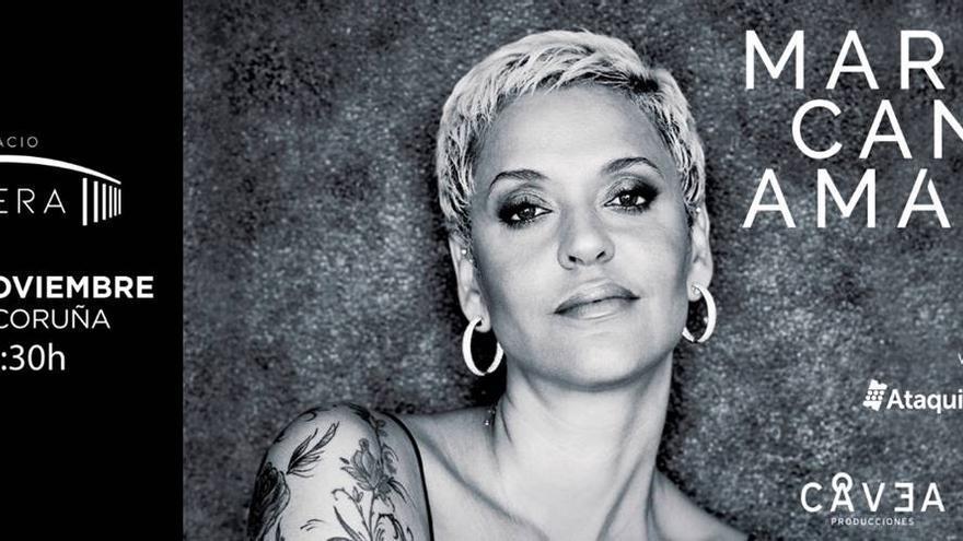 Mariza anuncia un concierto en A Coruña en noviembre