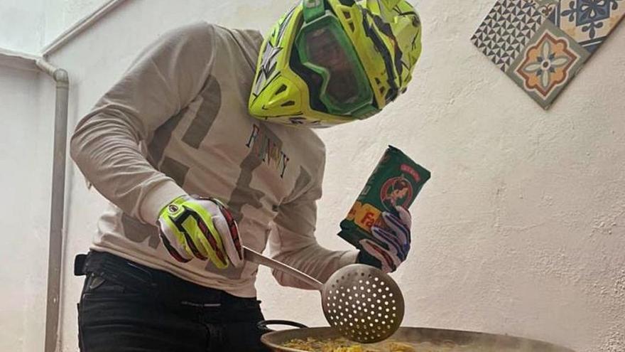 """Daniel Albero: """"Mis gafas de competición funcionan en la UCI"""""""