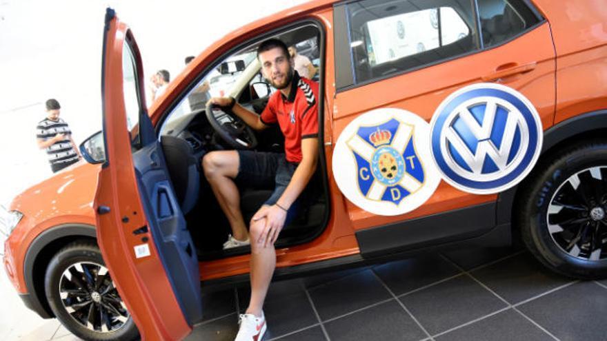 Nikola Sipcic, preparado para arrancar