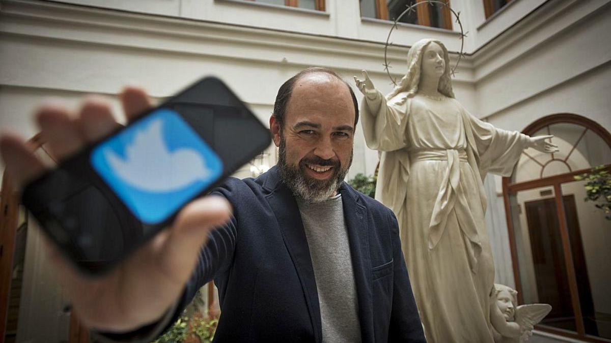 El periodista malagueño Antonio Moreno.