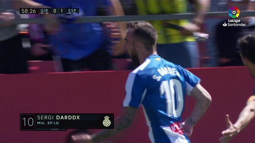 Darder lidera la victoria del Espanyol ante el Girona