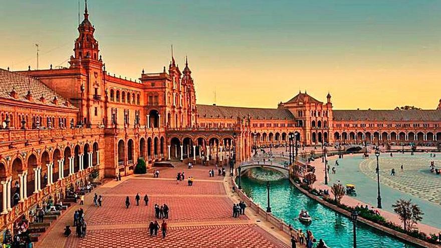 De película, Plaza de España de Sevilla