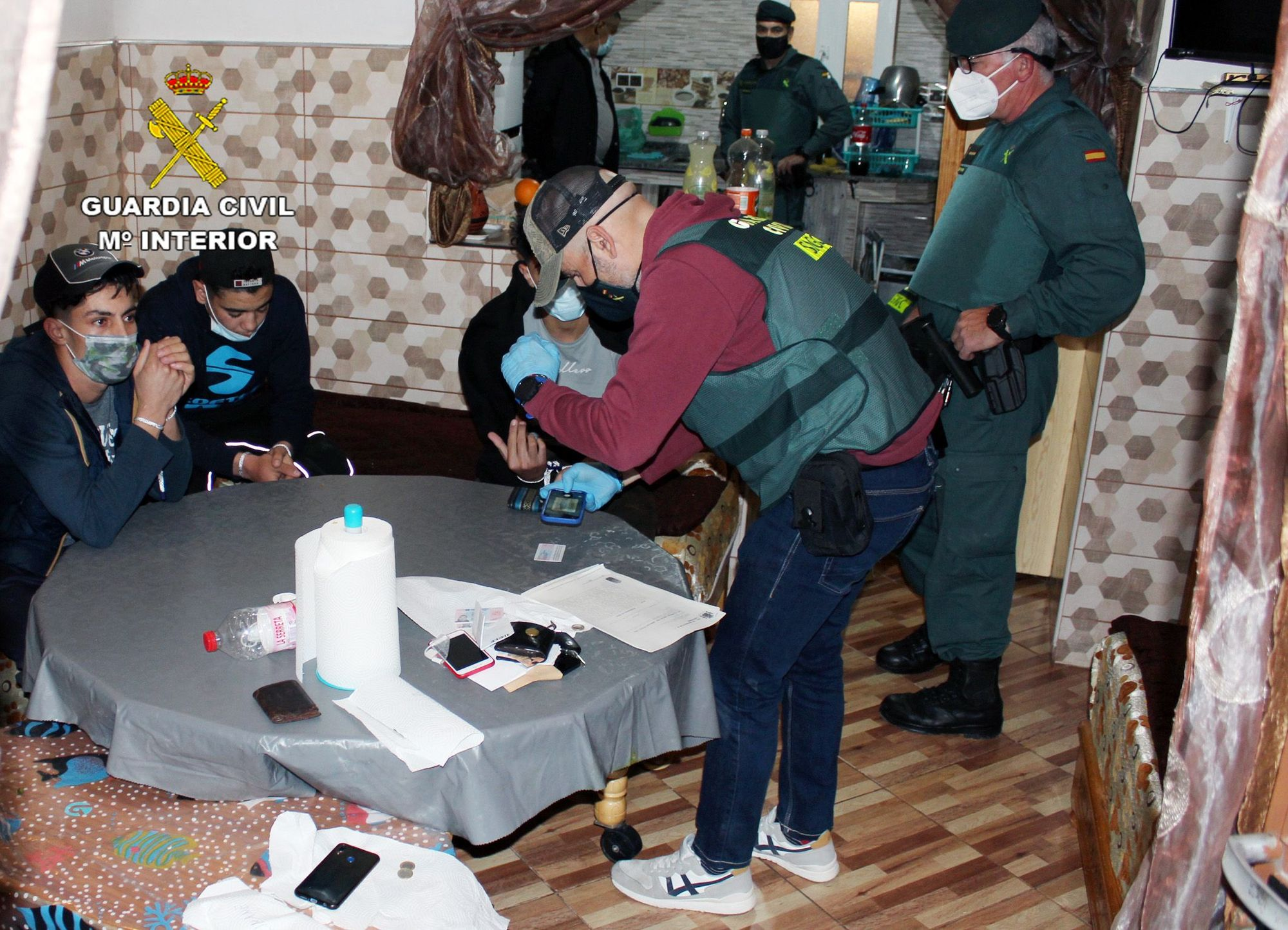 Operación Milousi de Guardia Civil