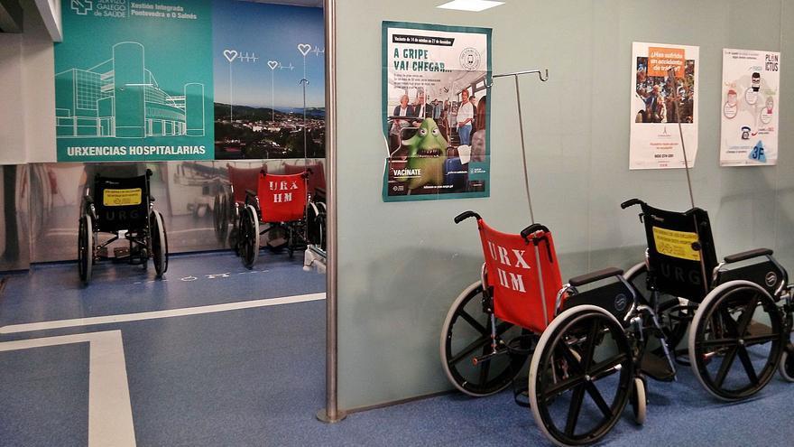 La saturación hospitalaria en Pontevedra obliga a trasladar pacientes a O Salnés
