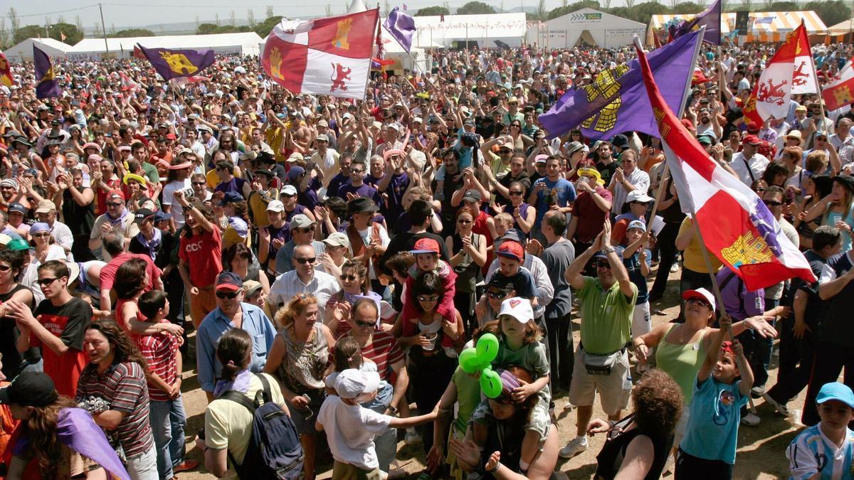 Celebración de Los Comuneros en Villalar