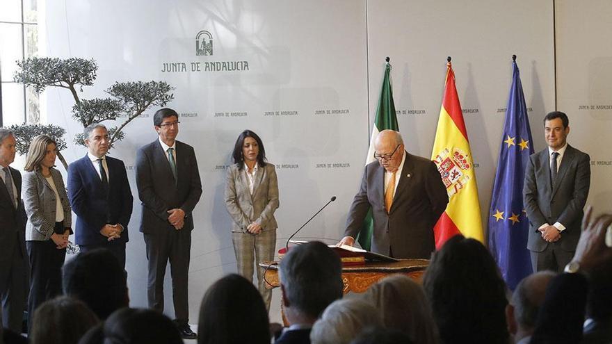 La toma de posesión del Gobierno Andaluz en imágenes