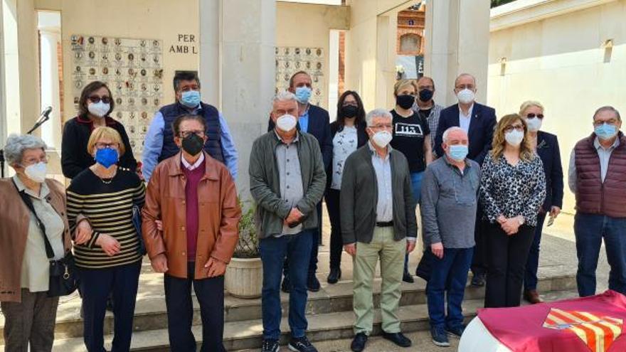 Los 33 alzireños fusilados en Paterna, homenajeados