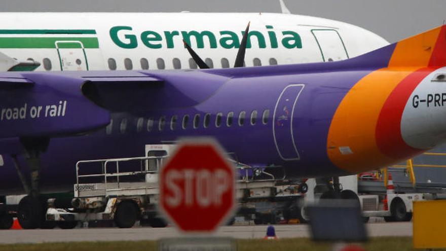La 'low cost' alemana Germania se declara en quiebra y cancela sus operaciones
