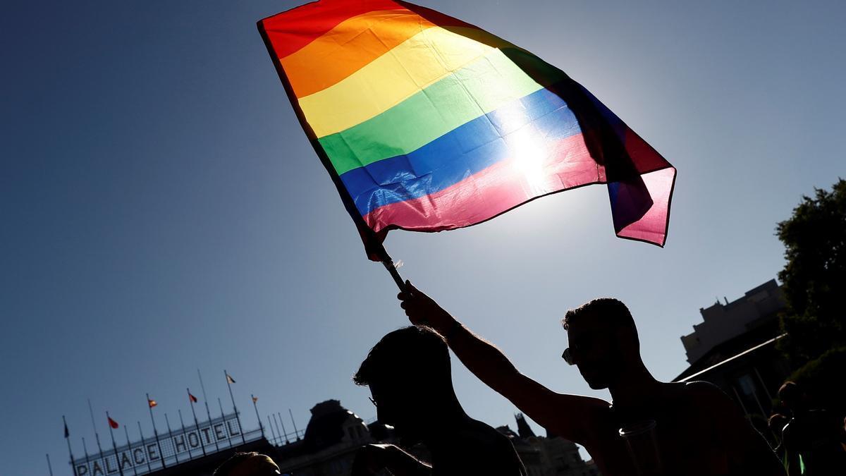 Imagen de archivo de la marcha del Orgullo en Madrid.