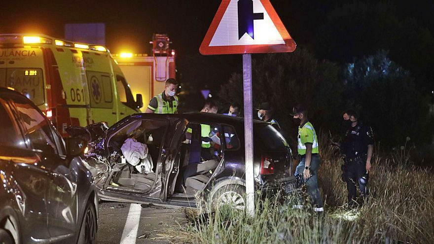 Las islas registran el doble de muertos en accidentes de tráfico este año que en 2020