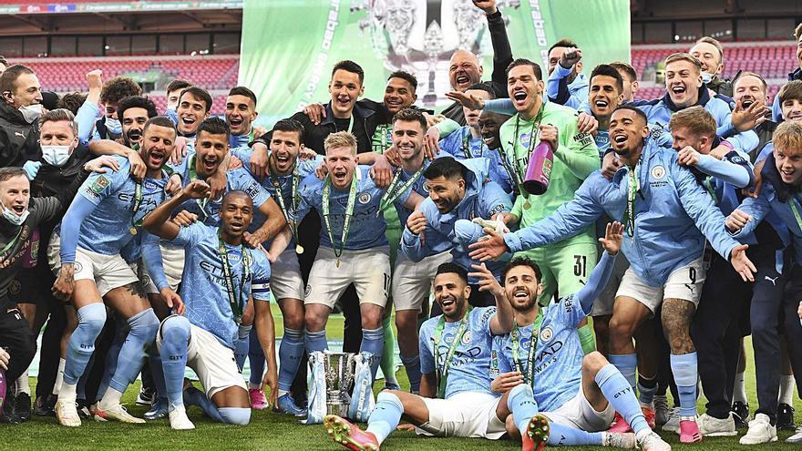 Otro título para el Manchester City