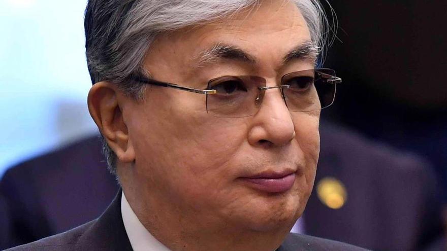 Kasim-Zhomart Tokáyev, investido presidente de Kazajistán