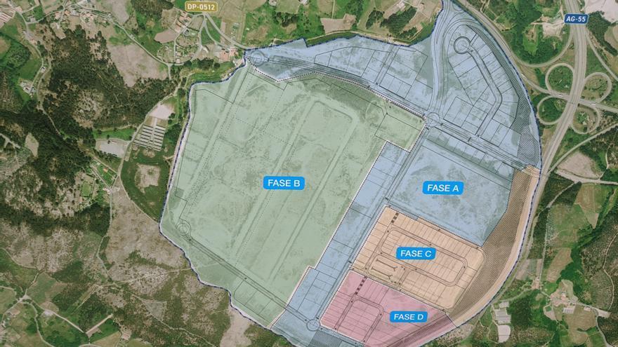 La Xunta pondrá en marcha la tercera fase del polígono de Morás en 2021