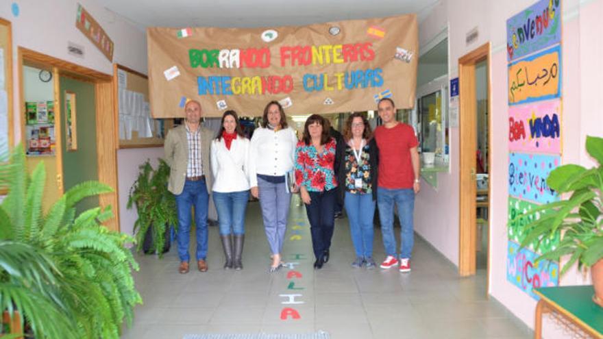 El IES Valle los Nueve recibe a estudiantes de Italia, Suecia y Rumanía
