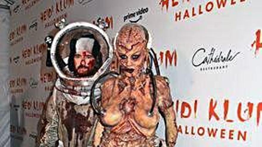 Heidi Klum, la 'estrella' de Halloween