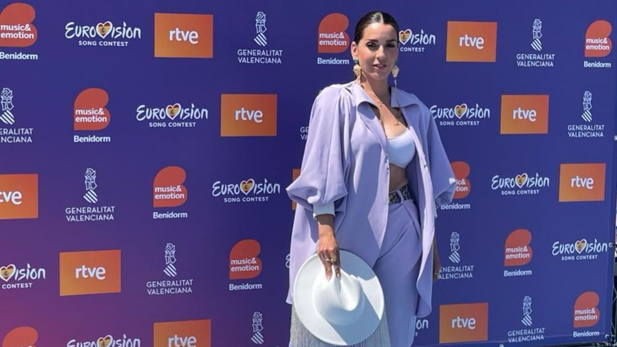 Ruth Lorenzo, presentadora del evento.