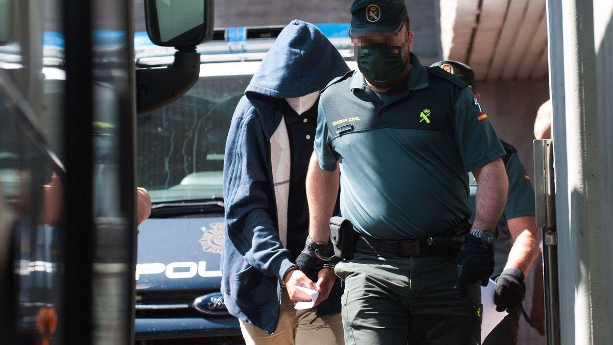 Uno de los detenidos por el crimen de Samuel.
