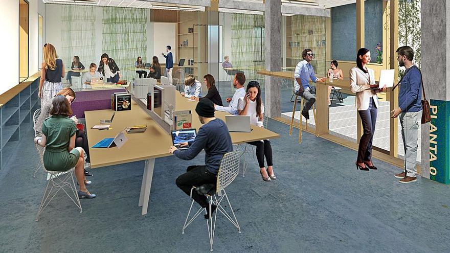 El Centro de Dinamización Empresarial de Ponteareas estará completamente equipado para el coworking